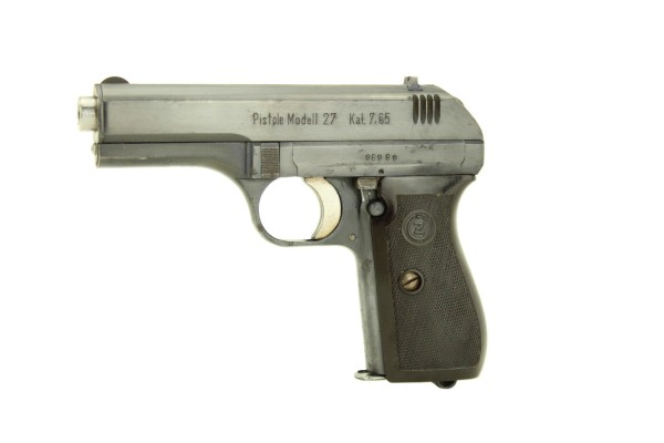 CZ 27 - P.27 (t) 7,65 Browning Wehrmacht