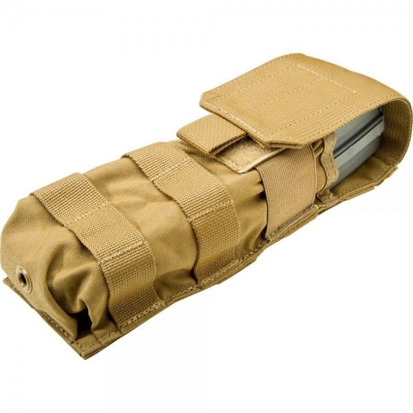 SUREFIRE V92 MOLLE POUCH FOR MAG5-60, COYOTE BROWN