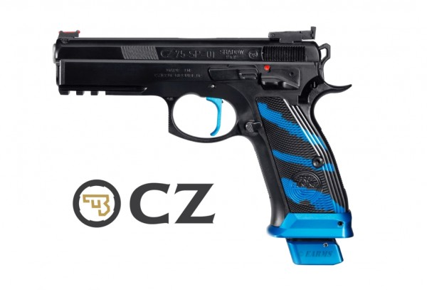 CZ SP-01 SHADOW BLUE PRO TUNING SERIE 9mm Luger