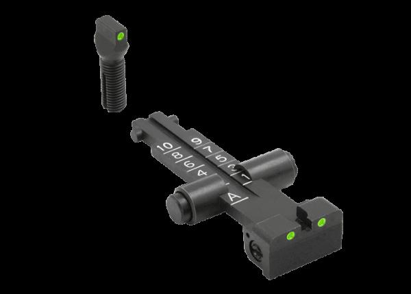 MEPRO AK47 / AKM TRITIUM 3-DOT 1000M Adjustable Sight SET