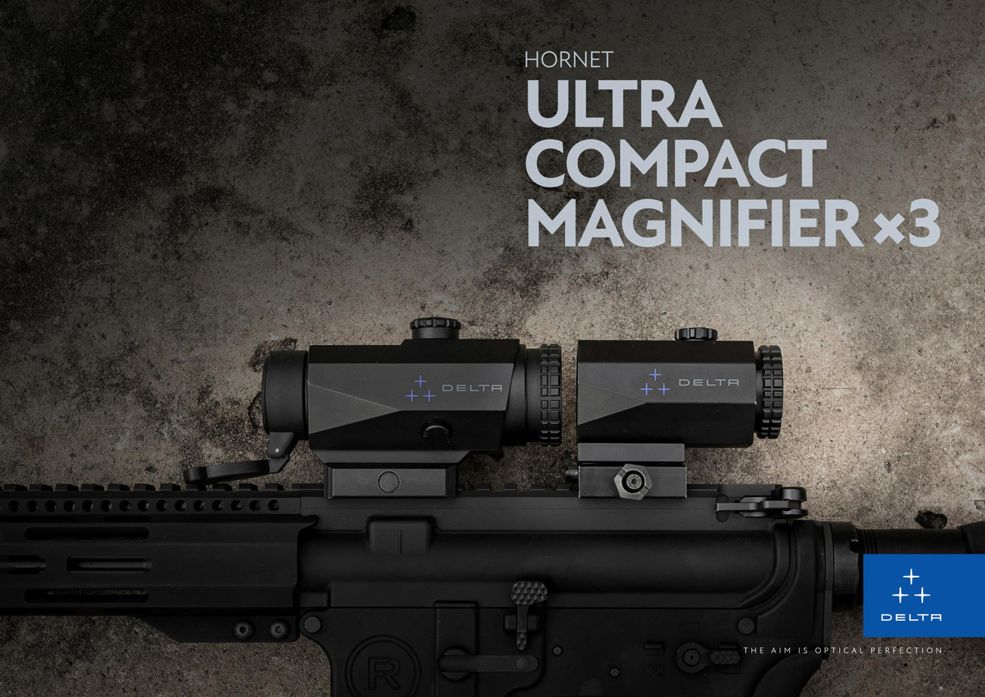 DELTA-Hornet-3x-QD-Magnifier-1