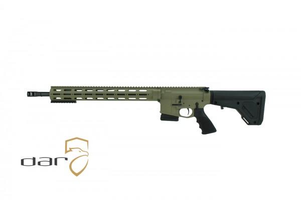 """DAR 15 SPR Special Purpose Rifle .223 REM 18"""" Cerakote """"FDE"""""""