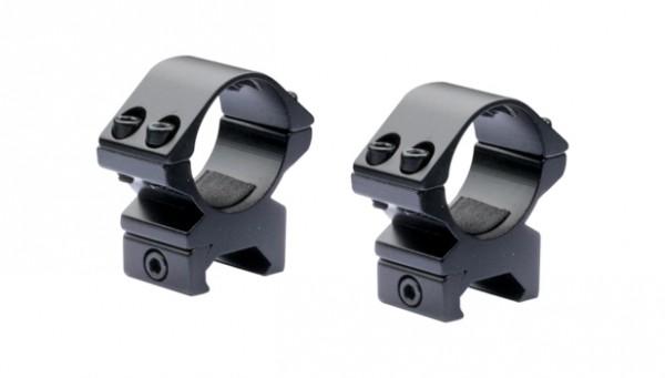 NIKKO STERLING OPTICS New Match Ringmontage 30mm für Weaver / Picatinnyschienen