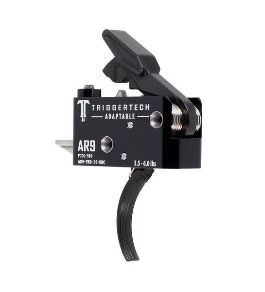 TRIGGERTECH Adaptable AR-9 Black Curved