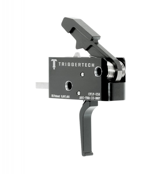 TRIGGERTECH Competitive AR15 Trigger Black Flat