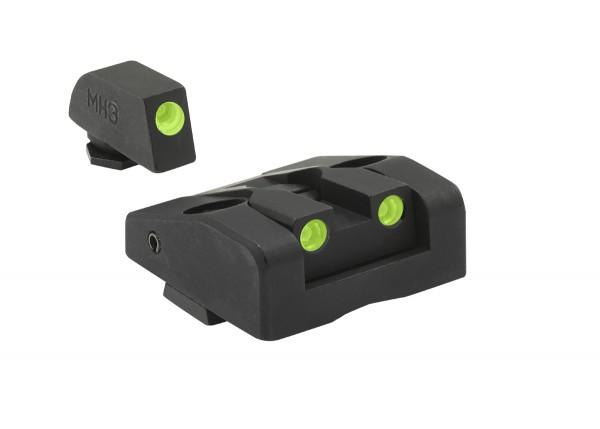 MEPROLIGHT TRU-DOT™ AD-COM GLOCK® Tritium Sight Adjustable