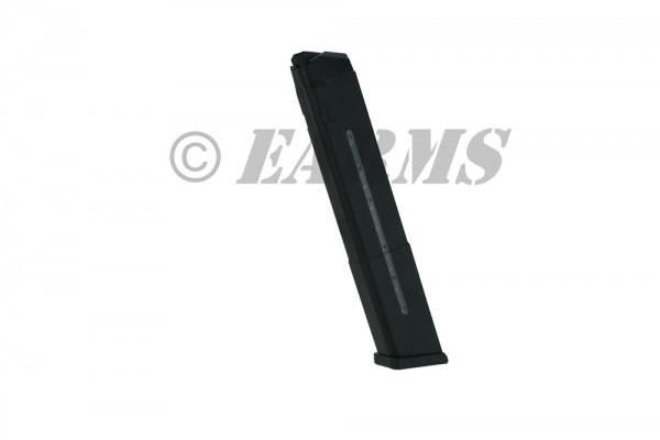 AC-UNITY GLOCK® 30 Schuss Stangenmagazin 9X19 mit Sichtfenster