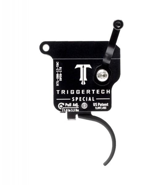 TRIGGERTECH Rem700 Special Black Curved Left