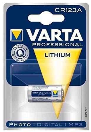 VARTA CR123 / CR123A PROFESSIONAL LITHIUM