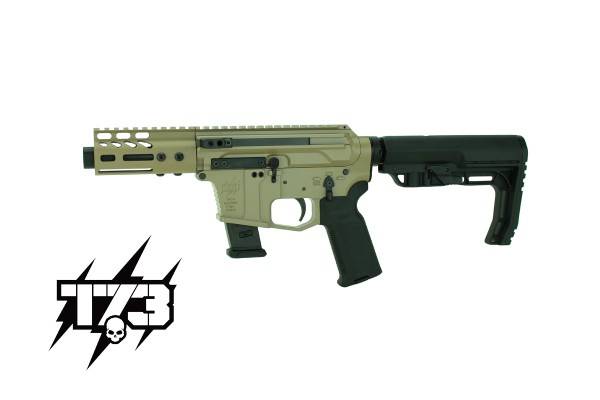 TACTICAL 73 TAC-9P Side-Charging 9X19 FDE
