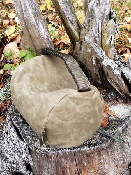 COLETAC Waxed Woobie bag
