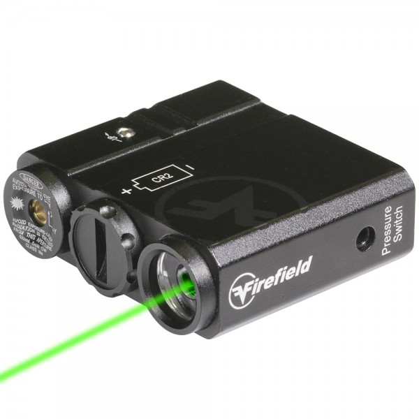FIREFIELD Charge AR Flashlight GREEN Laser Combo