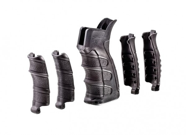 CAA UPG16 AR- Pistol Grip OEM SET BLACK