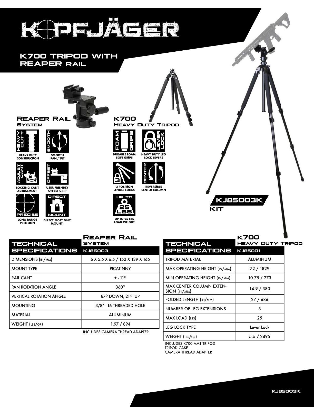 KOPFJ-GER-K700-AMT-Tripod-with-Reaper-Rail-System-Picatinny