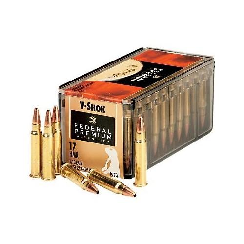 FEDERAL .17 HMR 17grs Premium® V-SHOK® 50 Stk/Pkg