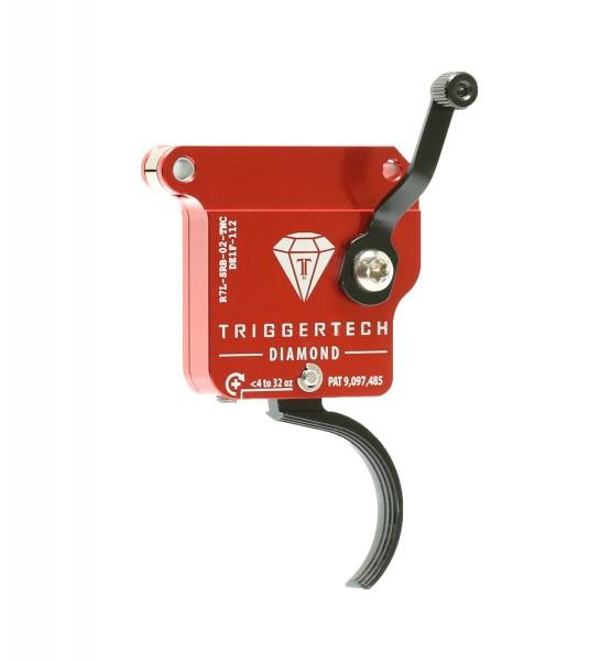 TRIGGERTECH Rem700 Diamond Black Curved Left