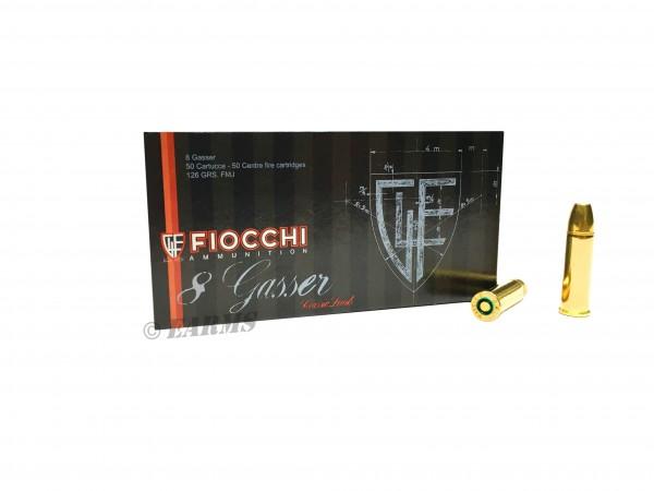 FIOCCHI 8mm GASSER 8,15gr/126grs FMJ 50 Stk/Pkg