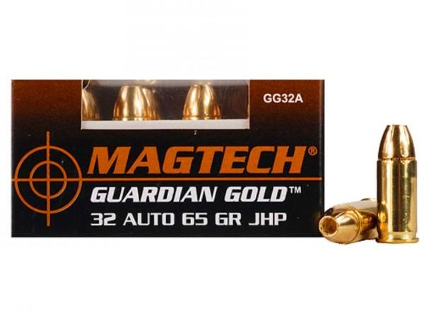 MAGTECH 7,65 Browning Guardian Gold JHP 65grs 20 Stk/Pkg