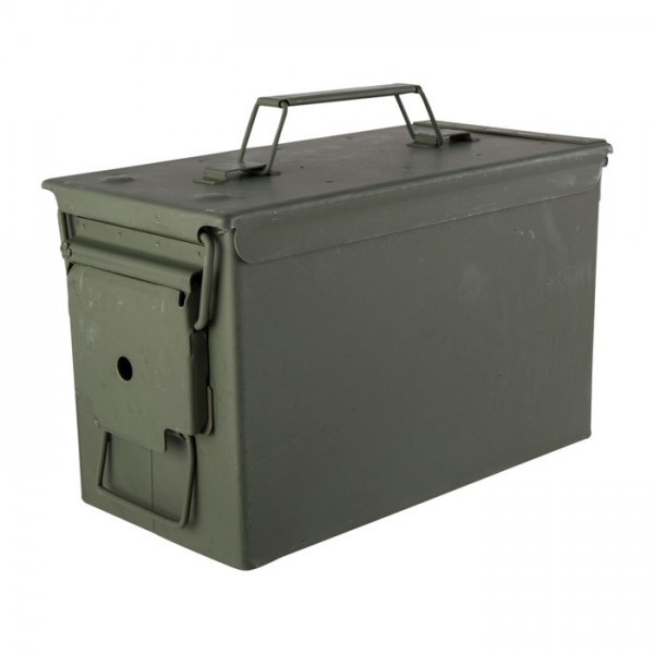 Munitionskiste M2A1 Kaliber 50 Stahl oliv
