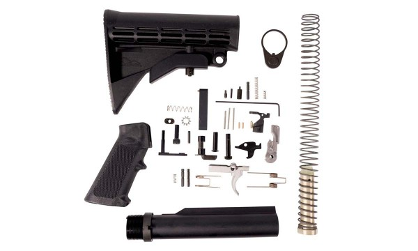 ANDERSON AR-15 / M16 Complete Lower MIL-SPEC KIT