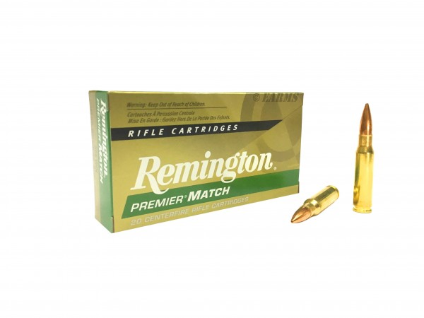 REMINGTON Premier Match .308 WIN Sierra Match King HPBT 168grs 20Stk/Pkg