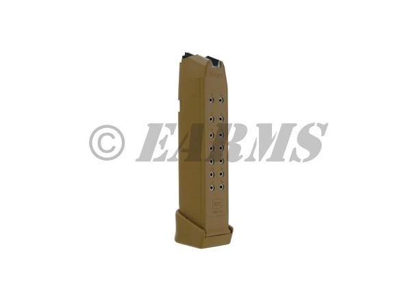 GLOCK 17,19,19X,26,34 Magazin 17+2 Schuss FDE 9mm Luger