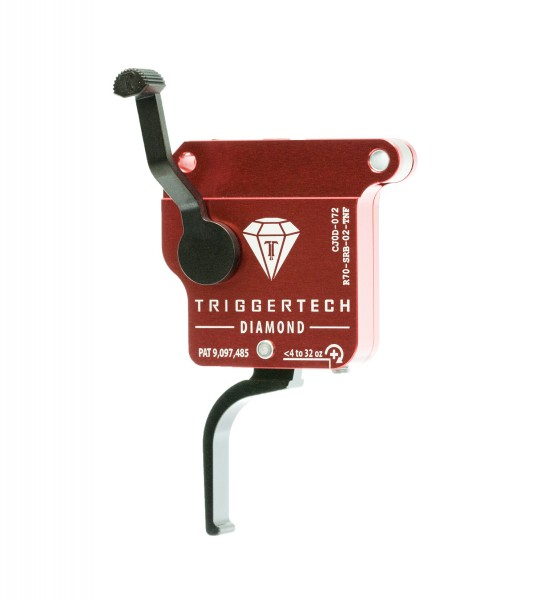 TRIGGERTECH Rem700 Diamond Black Flat