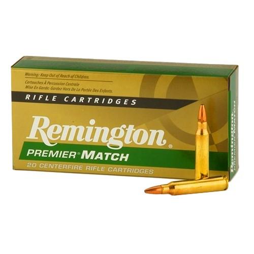 REMINGTON Premier Match .223 REM HPBT 52grs 20Stk/Pkg