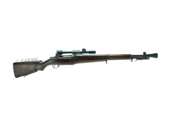 SPRINGFIELD U.S. GARAND M1D SNIPER RIFLE .30-06 WK2 ARSENAL