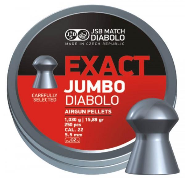 JSB Diabolo Kal. 5,5 Exact Jumbo 1,030g 250 Stk/Pkg