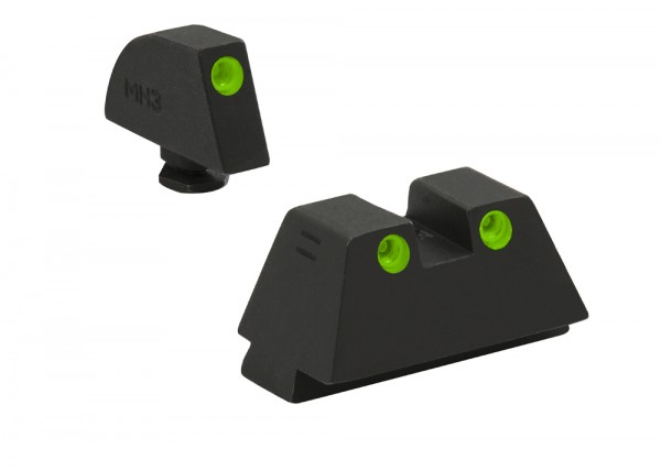 MEPROLIGHT TRU-DOT™ GLOCK® Schalldämpfer Tritium Sight