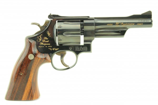 SMITH & WESSON Mod. 27-3 50 years '' The First .357 Magnum '' ANNIVERSARY 1935-1985