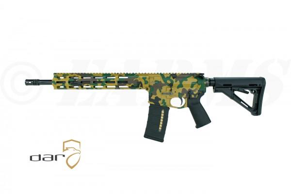 "DAR-15 M4 .223 REM 14,50"" M-LOK® M81 Woodland® Camo"