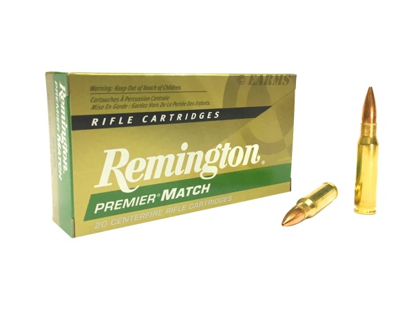 REMINGTON Premier Match .308 WIN Sierra Match King HPBT 168grs 20 Stk/Pkg