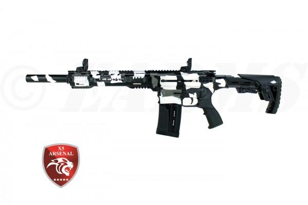 X5 ARSENAL AR-12T MILITARY SNOW CAMO 12/76