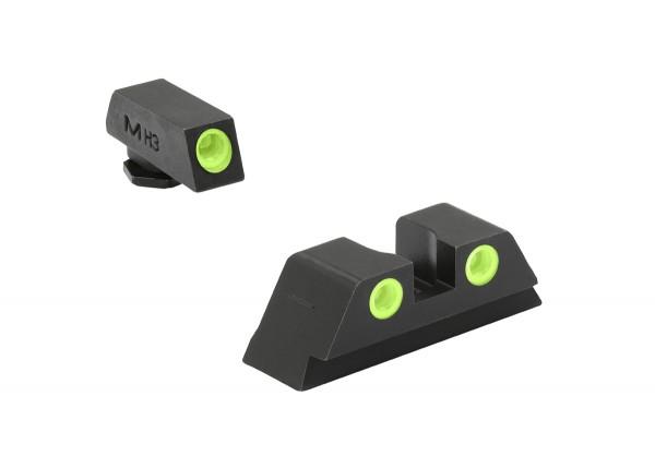 MEPROLIGHT TRU-DOT™ GLOCK® 17/19/31 Tritium Sight