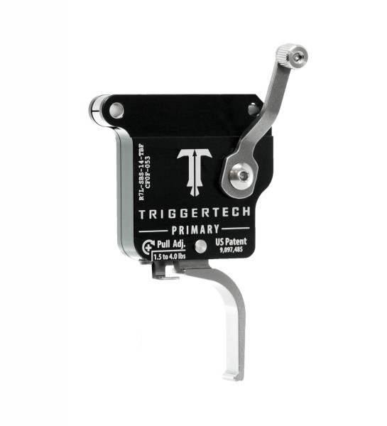 TRIGGERTECH Rem700 Primary Stainless Steel Flat Left
