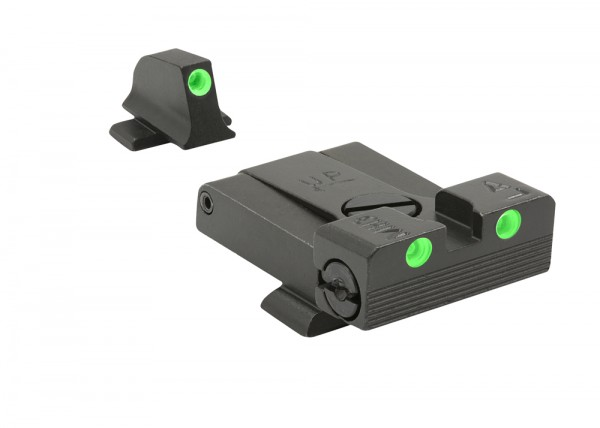MEPROLIGHT TRU-DOT™ SIG SAUER P220/P226/P320 Tritium Sight Adjustable Green