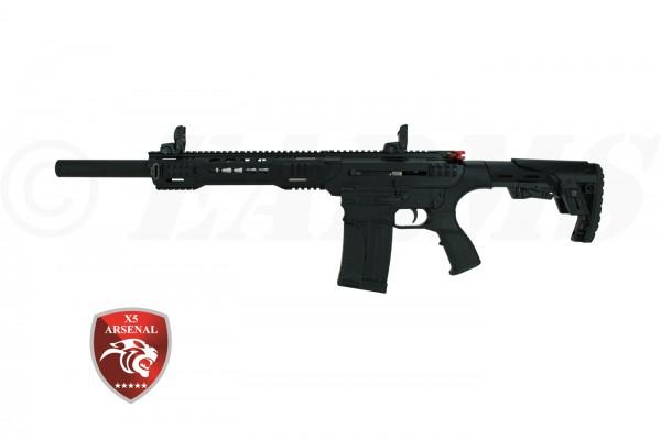 X5 ARSENAL AR-12T BLACK 12/76