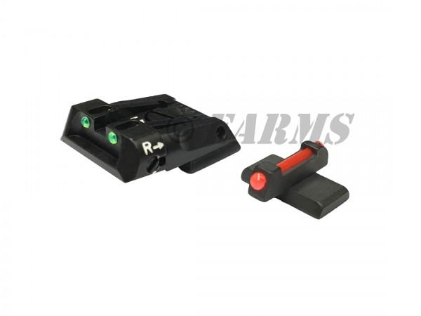 HECKLER&KOCH SFP-9 / HK45 Fiberglas Mikrometervisierung einstellbar