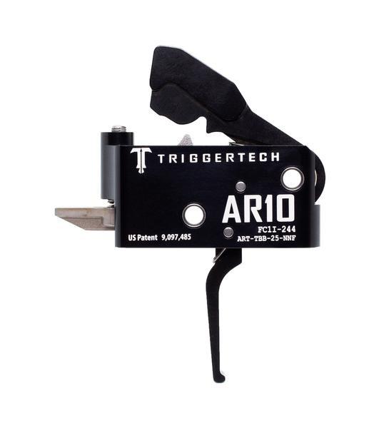 TRIGGERTECH Adaptable AR10 Trigger Black Flat
