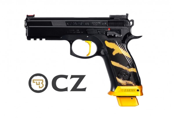 CZ SP-01 SHADOW GOLD PRO TUNING SERIE 9mm Luger