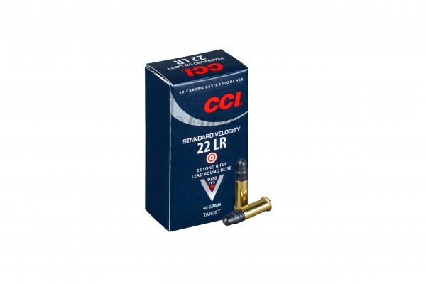 CCI Standard .22lr 40grs 50 Stk/Pkg