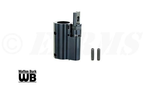 BURK Gasblock einstellbar für HAENEL CR223 Modelle