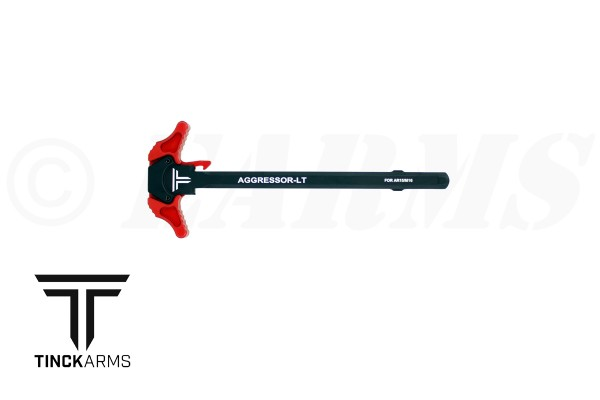 TINCK ARMS AR-15 AGGRESSOR-LT™ CHARGING HANDLE RED