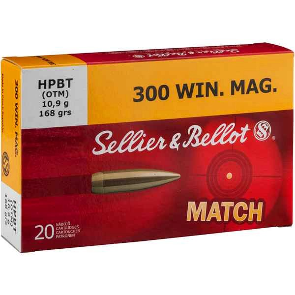 S&B .300 WIN MAG HPBT 168grs 20 Stk/Pkg