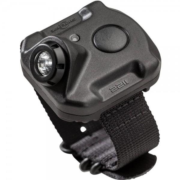 SUREFIRE 2211® WRISTLIGHT 2211-A-BK-PLM Rechargeable Variable-Output LED