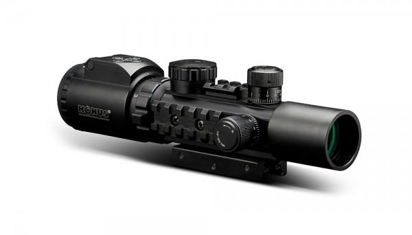 KONUSPRO® AS-34 2-6×28 Tactical Scope