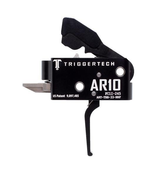 TRIGGERTECH Competitive AR-10 Trigger Black Flat