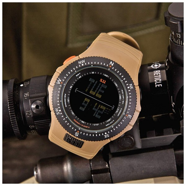5.11 TACTICAL Field Ops Military Watch (New Design) Coyote